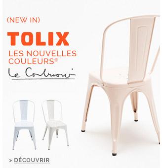 Nouvelles couleurs Tolix