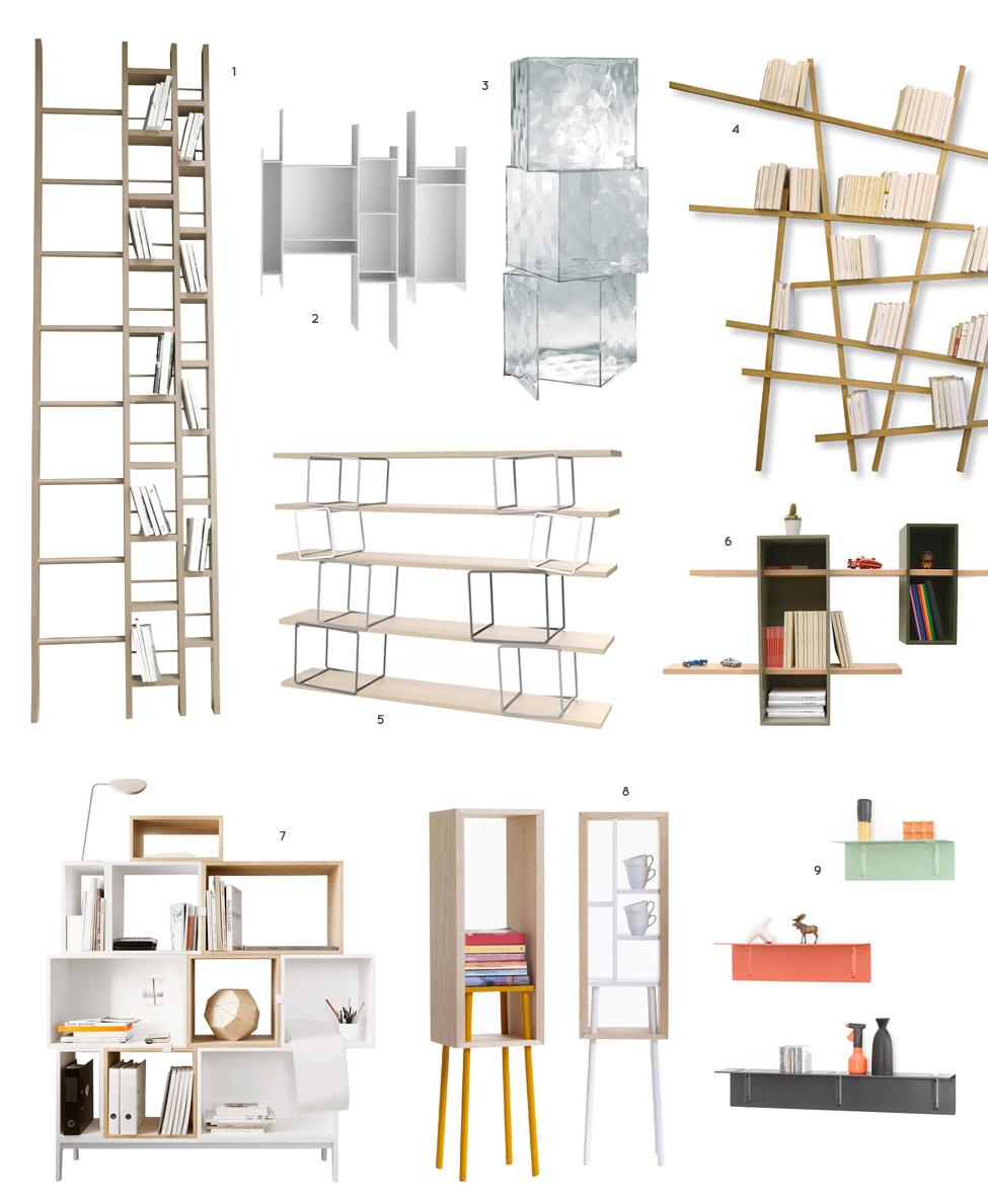 etagere kartell. Black Bedroom Furniture Sets. Home Design Ideas