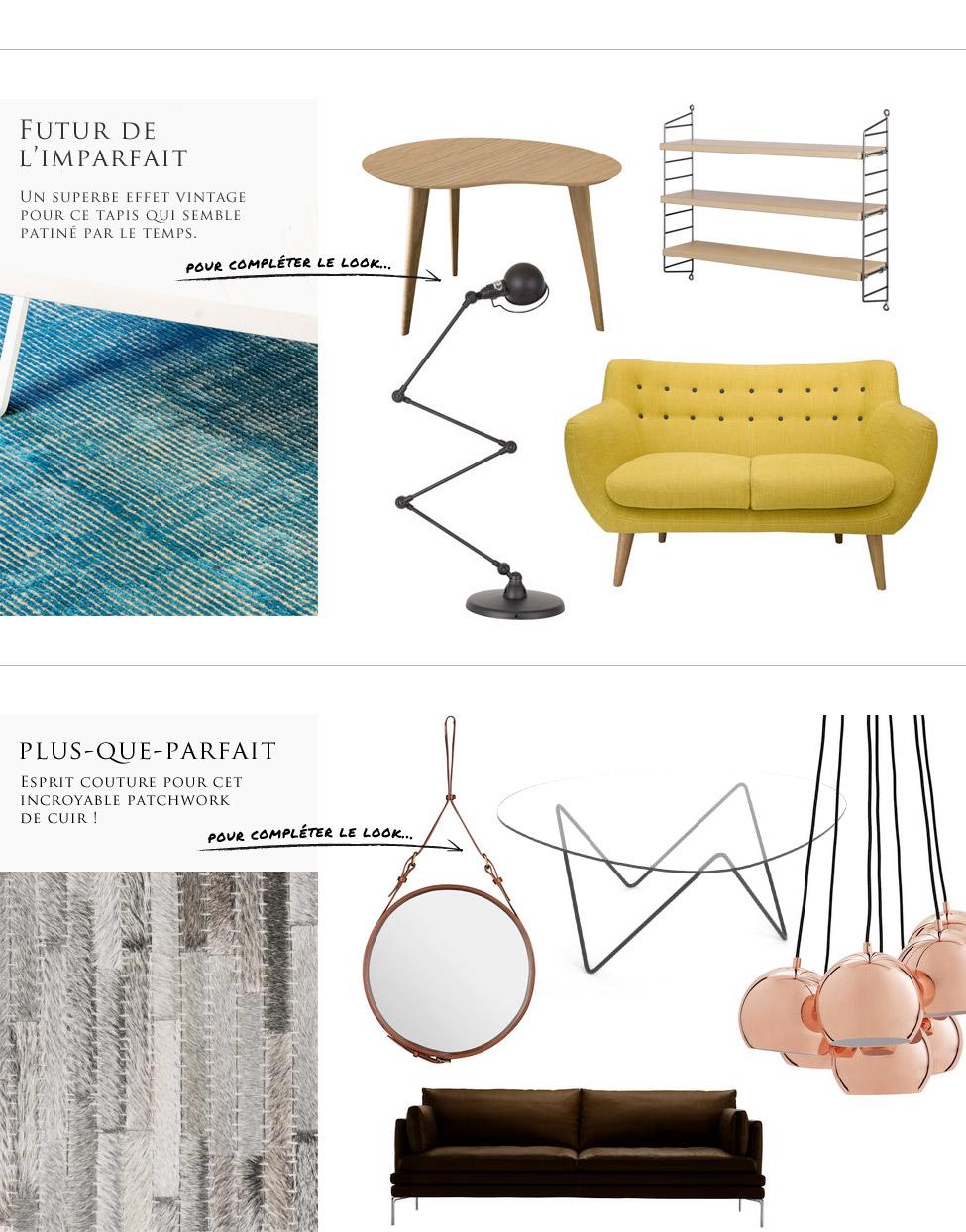 des tapis conjuguer tous les styles. Black Bedroom Furniture Sets. Home Design Ideas