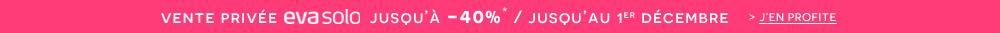 Profitez de notre vente privée Eva Solo : jusqu'à -40%* !