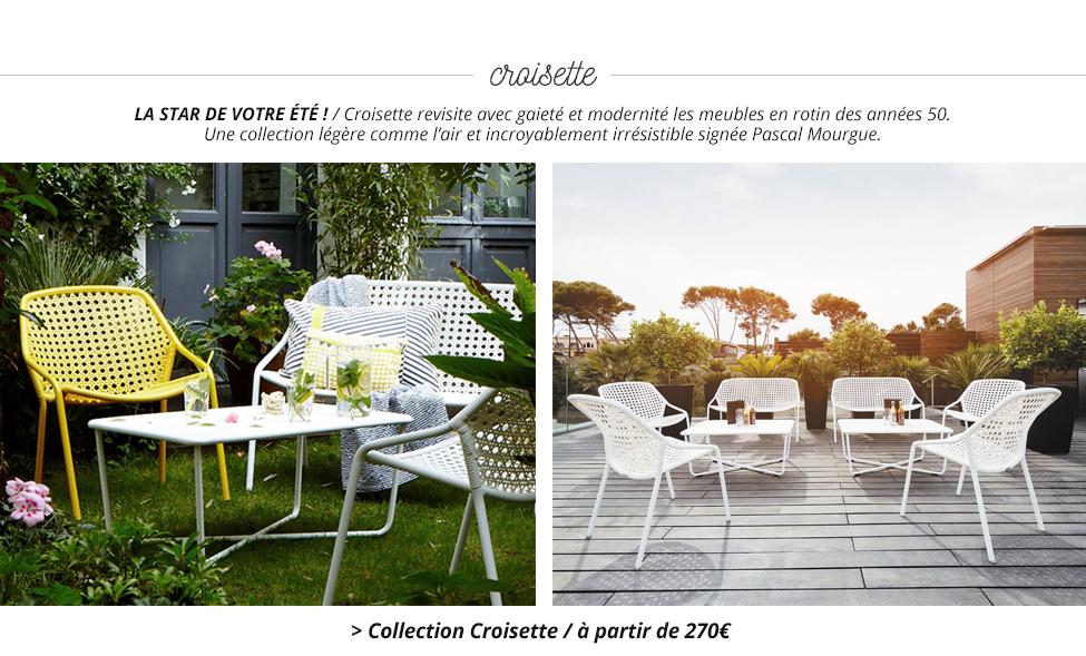 fermob nouvelle collection 2016. Black Bedroom Furniture Sets. Home Design Ideas