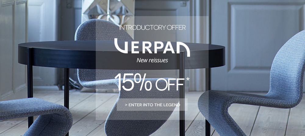 verpan introductory offer on made in design