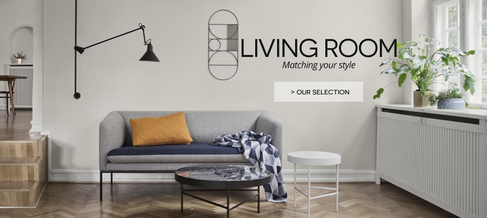 living room great designer brands on made in design