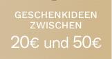 Geschenkideen zwischen 20€ und 50€