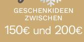 Geschenkideen zwischen 150€ und 200€