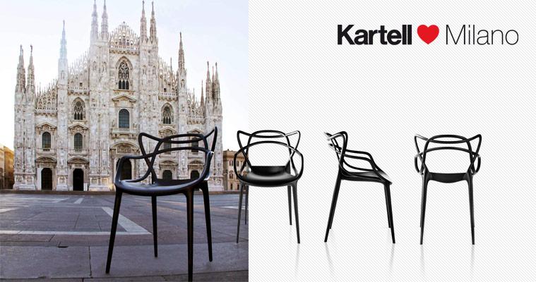 Milan exhibition 2011 kartell the lastest interior - Chaises kartell masters ...