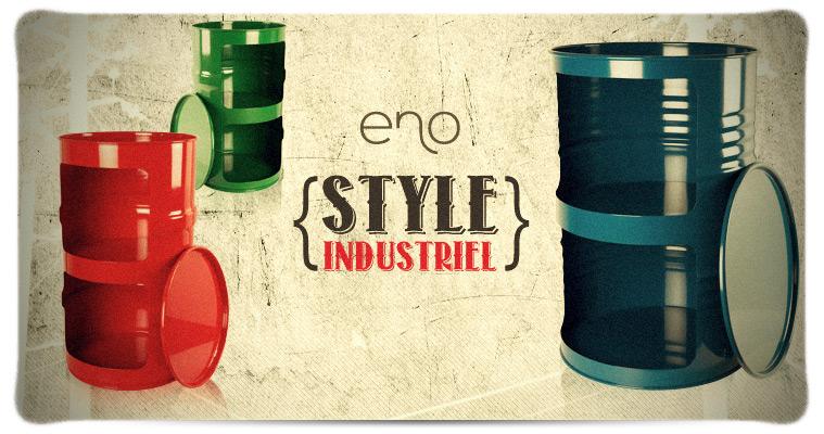 Design industriel 2011 - Poubelle style industriel ...