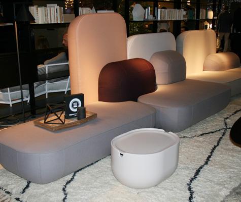 Canapé par Nendo