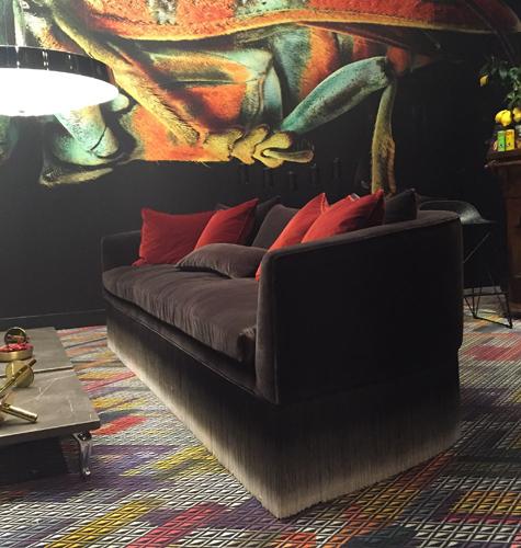 Canapé par Lorenza Bozzoli
