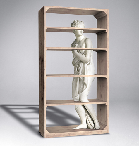 Bibliothèque Venus par Fabio Novembre
