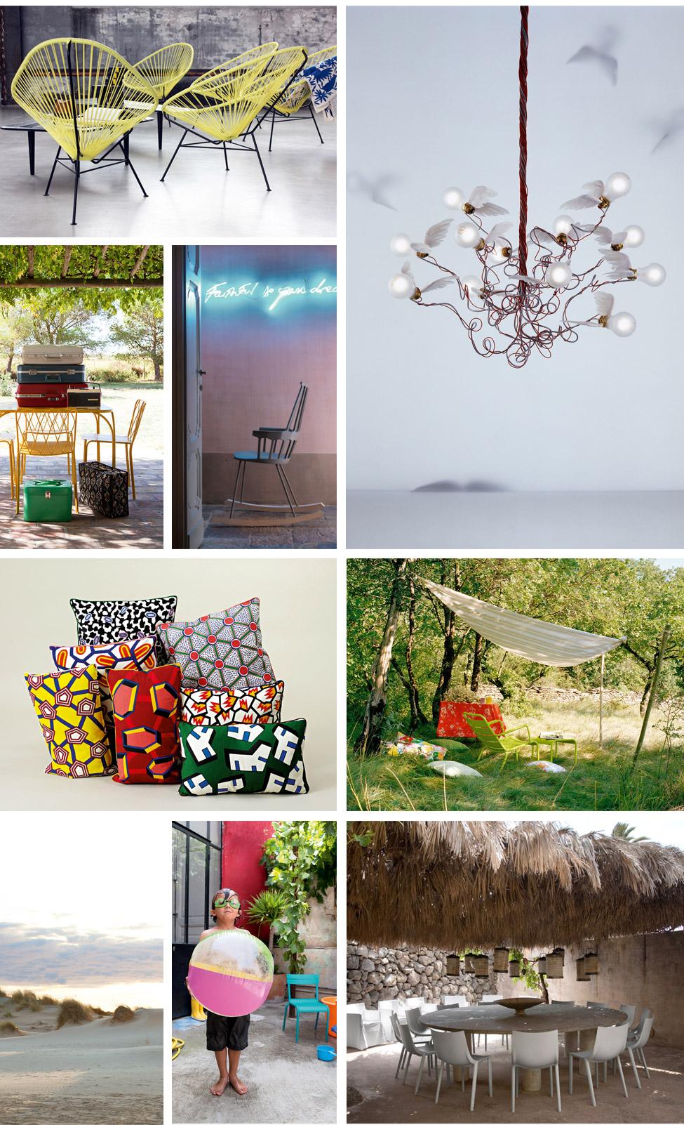 Arredamento moderno lampade design e oggetti design per casa e giardino made in design - Fermob luxembourg saldi ...