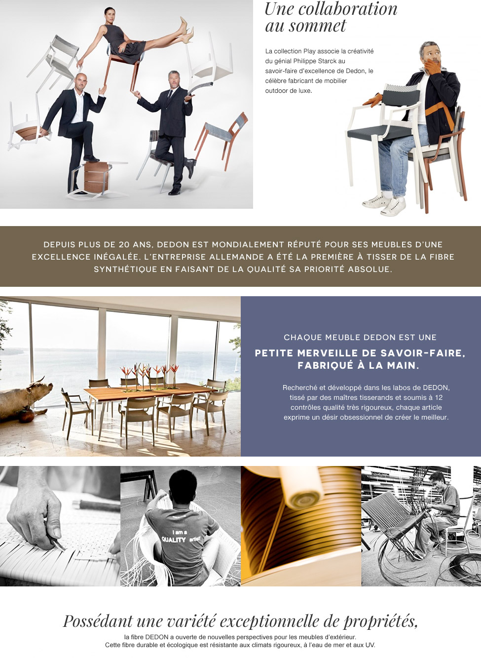 Play with Dedon & Philippe Starck
