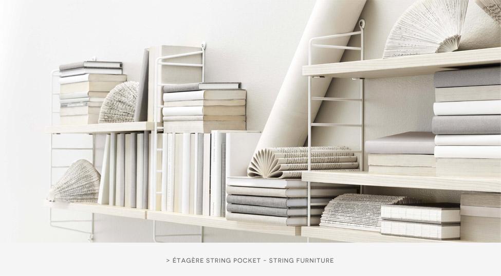 Etagère String Pocket String Furniture