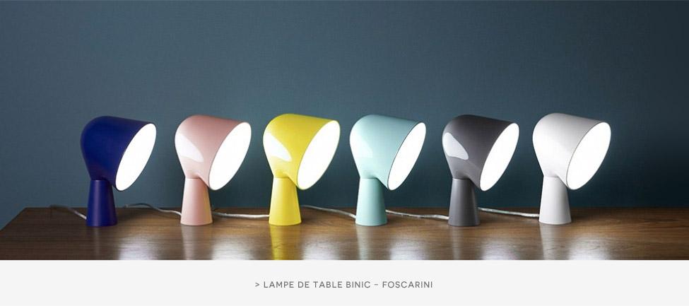 Lampe de table Bicnic Foscarini