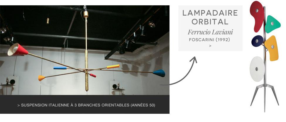 Lampadaire Orbital Foscarini