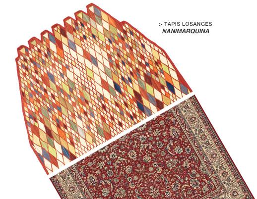 Tapis Losanges Nanimarquina