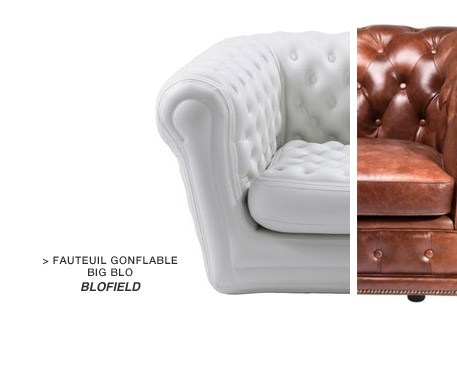 Fauteuil gonflable Big Blo Blofield