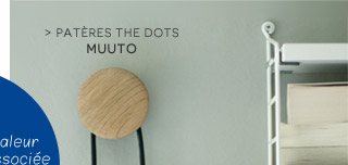 Patère The dots Muuto