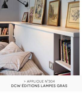Applique Plafonnier DCW éditions Lampes Gras