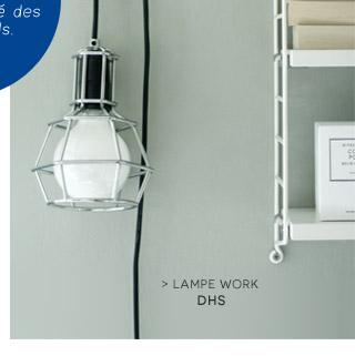 Lampe Work à poser ou supendre Design House Stockholm