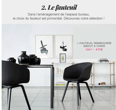 Fauteuil rembourré About a chair Hay