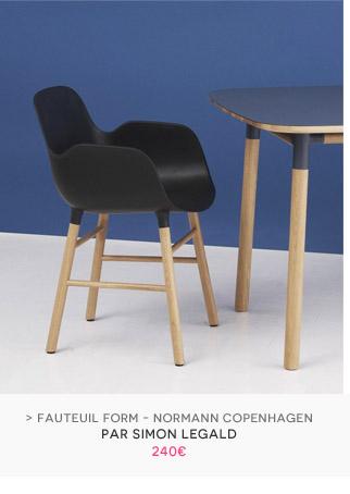 Fauteuil Form Normann Copenhagen