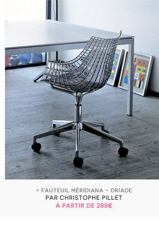 Fauteuil Meridiana Driade