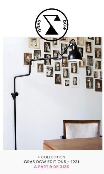 DCW éditions - Lampes Gras