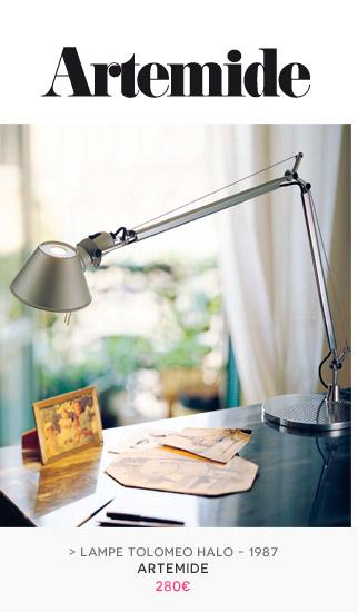 Lampe de table Tolomeo HALO Artemide