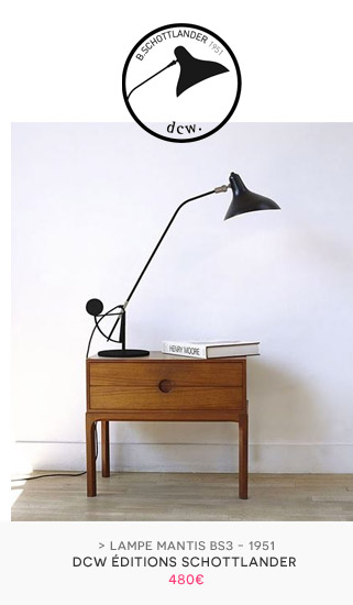 Lampe de table Mantis BS3 Schottlander