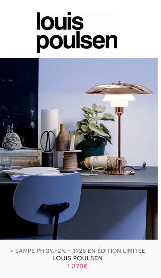 Lampe de table PH 3½-2½ Louis Poulsen