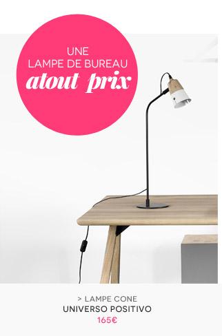 Lampe de table Cone Universo Positivo