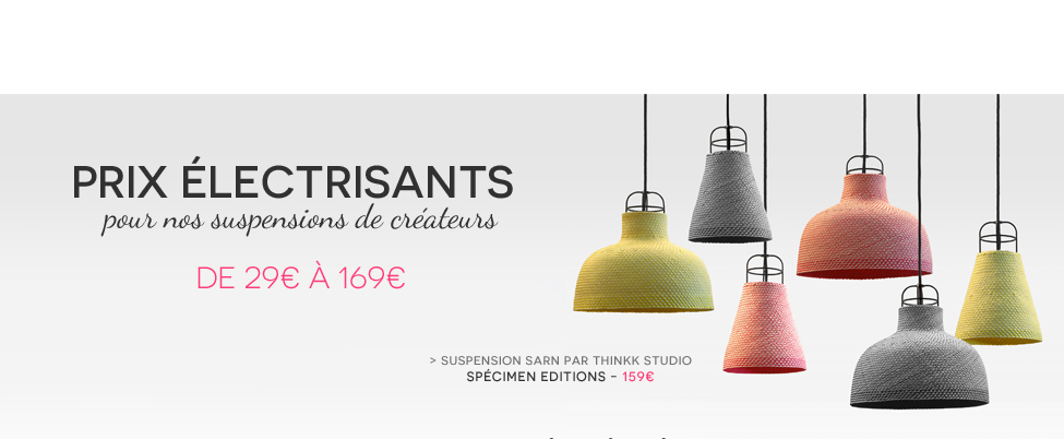 Suspension Sarn Spécimen Editions
