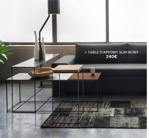Table d'appoint Slim Irony Zeus