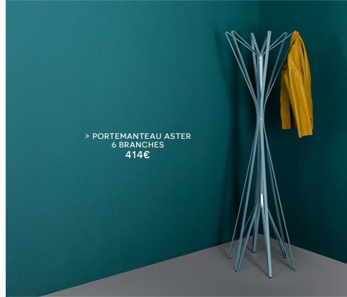 Portemanteau Aster / 4 branches - Zanotta