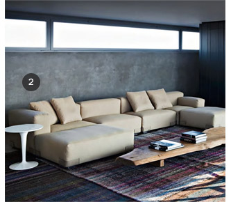 Un aménagement pièces par pièce : Le salon