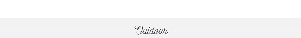Outdoor Collection 2017