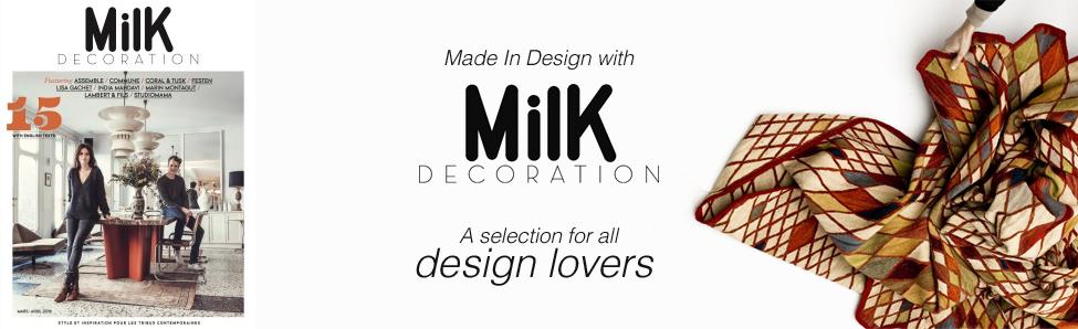 milk decoration. Black Bedroom Furniture Sets. Home Design Ideas