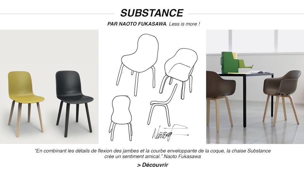 Chaise Substance - Magis