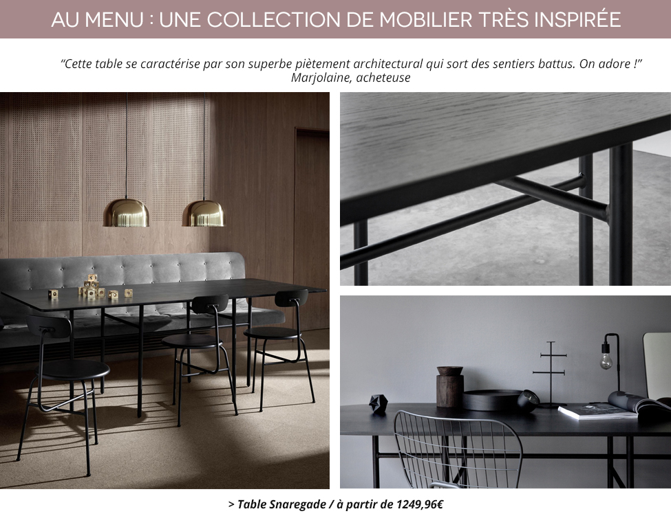 MENU / La nouvelle collection 2016