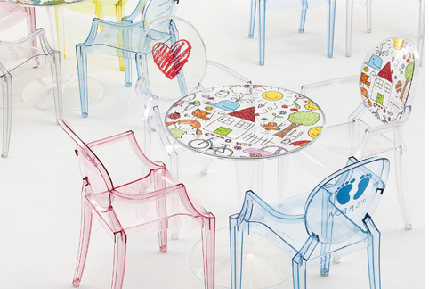 Kartell : Tip Top KIDS Kindertisch