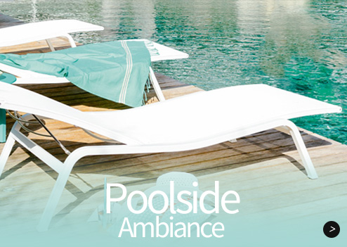 Modern outdoor furniture and garden patio furniture for Club piscine outdoor furniture