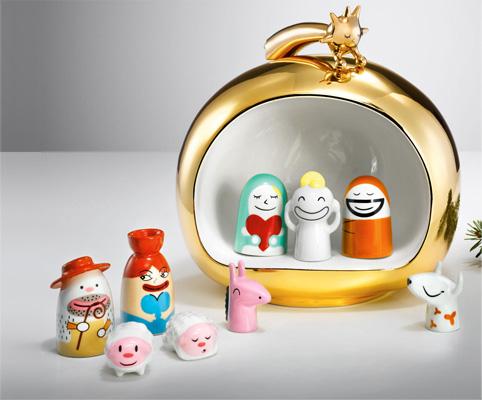 Weihnachts-Deko von Alessi
