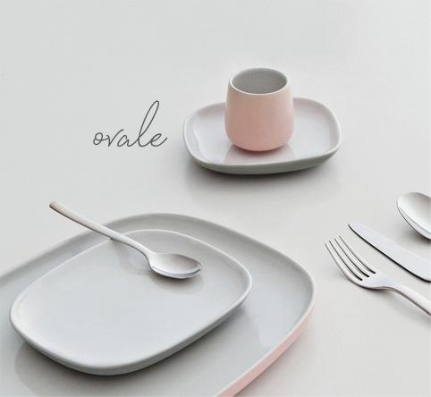 Service de table Ovale