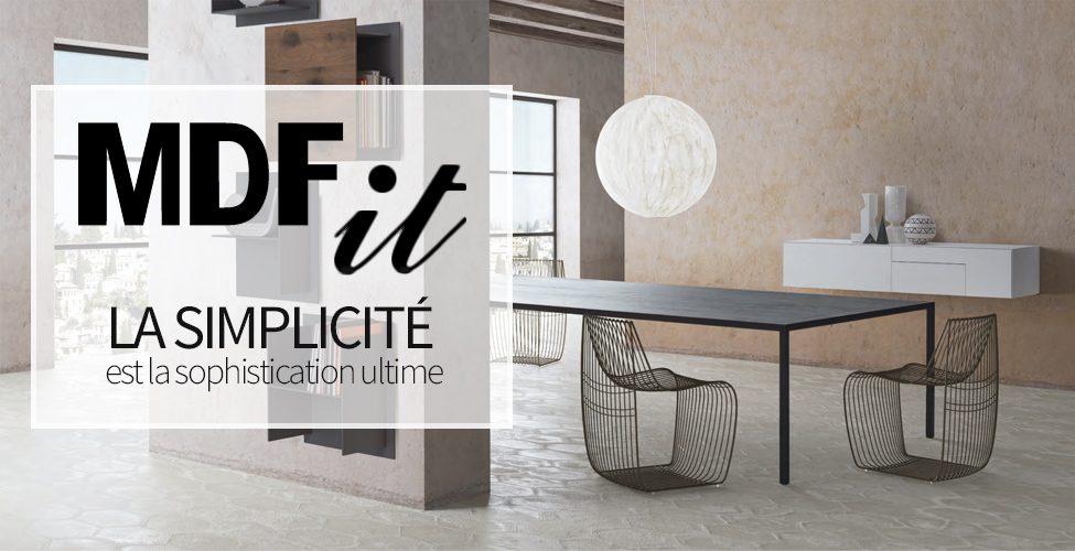MDF ITALIA : Nouvelle Collection