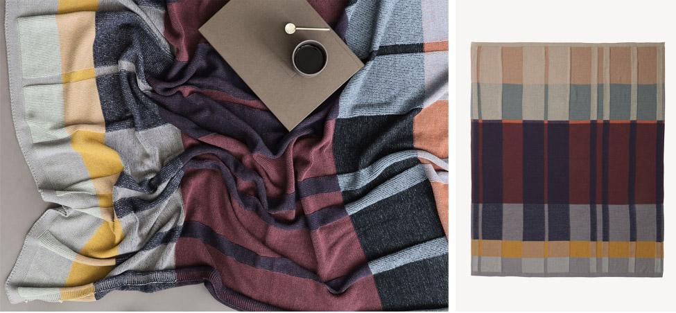 Plaid Medley Knit