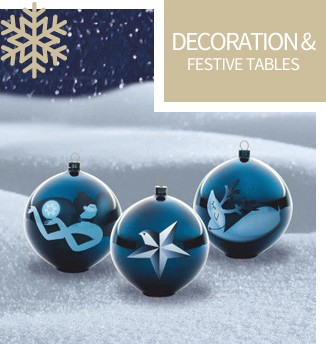 Decoration & festive tables