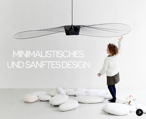 Minimalistisches und sanftes Design