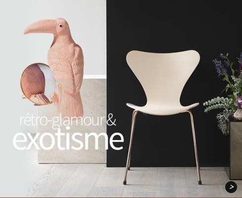 Rétro glamour & exotisme