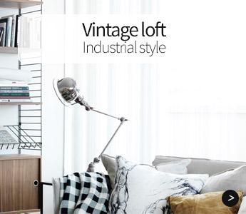 Vintage loft, industrial style